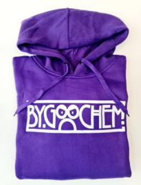 Hoodie paars ByGoochem logo