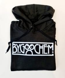 Hoodie zwart ByGoochem logo