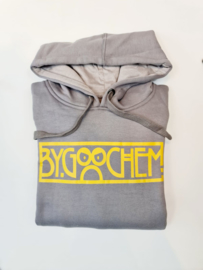 Hoodie grijs ByGoochem logo