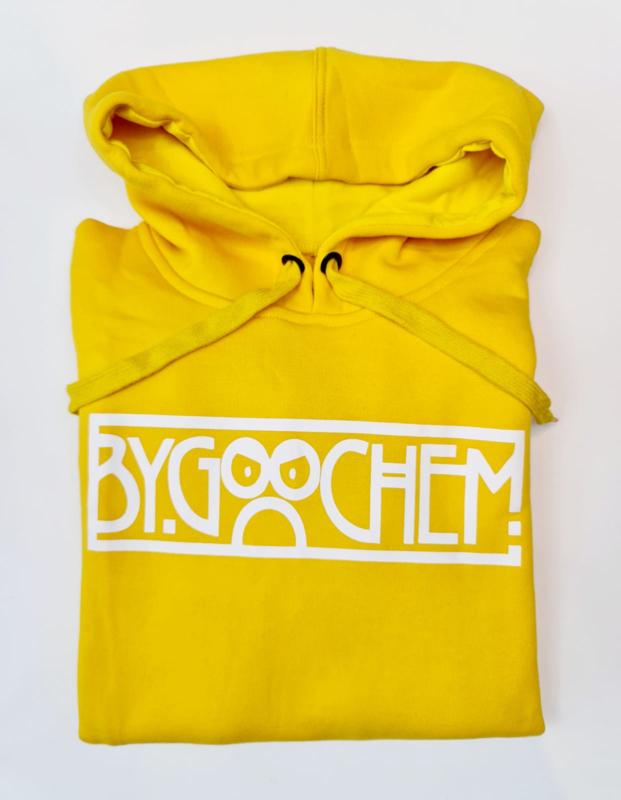 Hoodie oker ByGoochem logo