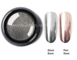Chrome Mirror Pigment - Zilver