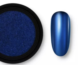 Chrome Mirror Pigment - Donkerblauw