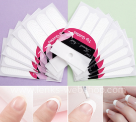 Stickertjes French manicure