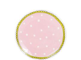 Bord 18cm Dots