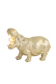 Tafellamp HIPPO klein goud