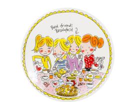 Ontbijtbord 22cm Girls