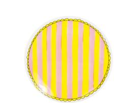 Bord 18cm Stripes