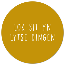Muurcirkel Lot Sit Yn Lytse Dingen