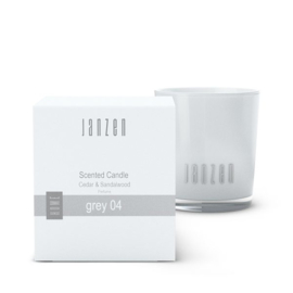Scented Candle Grey 04