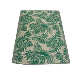 Buitentapijt tropisch blad 120 x 180 cm