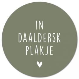 Muurcirkel In Daaldersk Plakje