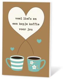veel liefs en een kopje koffie voor jou