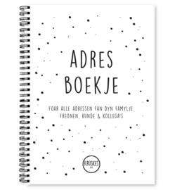 Fries adresboekje