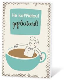Koffie in een kaartje