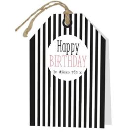 Happy Birthday - In dikke tút