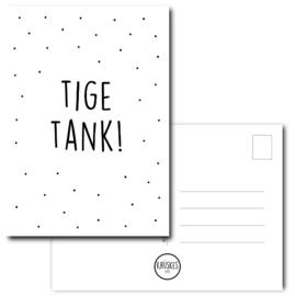 Kaart Tige tank