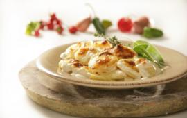 naturel aardappelgratin