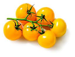 gele cherry tomaten