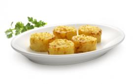 aardappel gratin taartjes