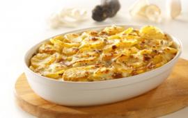 truffel aardappelgratin
