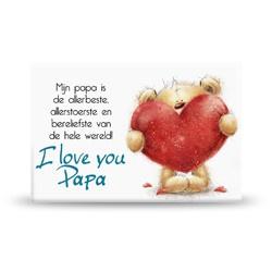 Magneet - I Love Papa