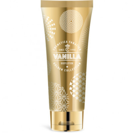 Bodylotion in goudkleurige tube/  vanille