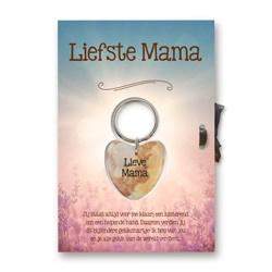 Gelukshart GiftCard - Liefste Mama