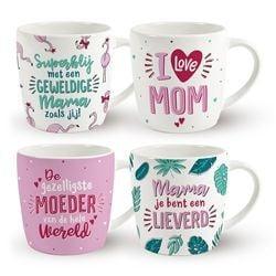 Roze Moederdag Mok De gezelligste moeder