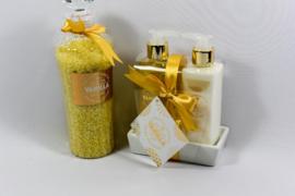 Gouden giftsets, 4-delig / vanille