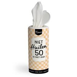Tissue Dispenser - 50 JAAR