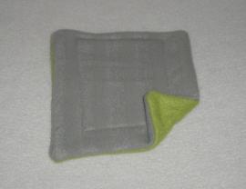 Radiator hangmat S Grijze streep met groen