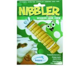 Happy Pet knaaghout Nibbler groot geel