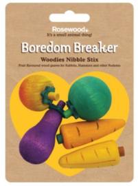 Rosewood Boredom braeaker nibble stix 3D fruit
