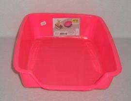 Ebi Toilet voor in kooi Fel roze