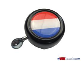Bell Holland black dome sticker