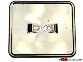 License plate holder horizontal chrome (Netherlands)