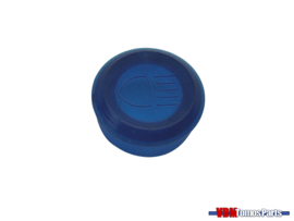 Control glass speedometer housing blue Tomos