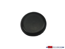 Cover rubber left topside frame Tomos Qaudro/Standard/Etc