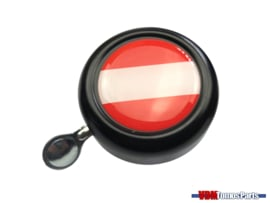 Bell Austria black dome sticker