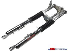 Front fork EBR short chrome Tomos A3/A35/Etc