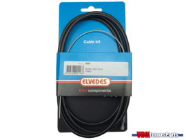 Achterrem kabel zwart Elvedes Tomos A3/A35