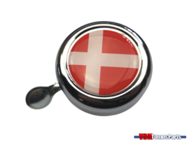 Bell Denmark chrome dome sticker