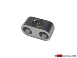 Kabelconnector zilver (8mm)