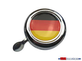 Bell Germany chrome dome sticker