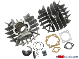 65cc Airsal cilinder set aluminium (44mm) Tomos A55/Revival/Etc