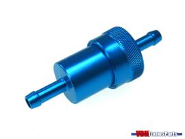 Benzine filter aluminium blauw BIG