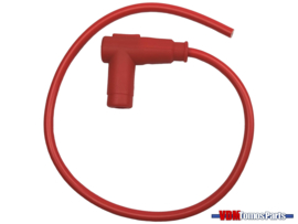 Bougiedop rood met kabel