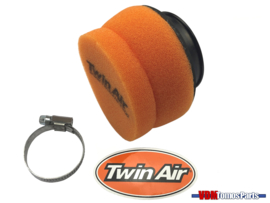 Luchtfilter Twin Air oranje 50mm universeel