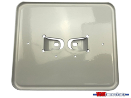 License plate holder horizontal white (Netherlands)