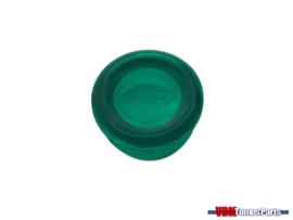 Control glass OM speedometer housing green Tomos